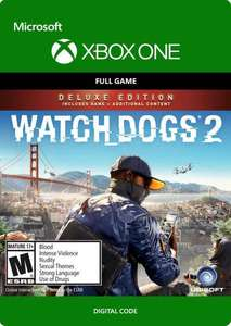 [Xbox One] Watch Dogs 2 - Deluxe Edition - £10.79 @ CDKeys