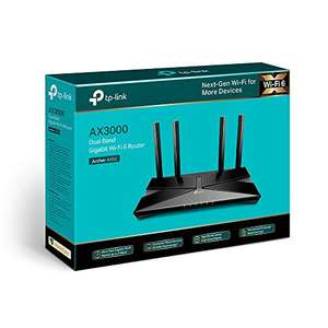 TP-Link Archer AX50 Next-Gen WiFi 6 Gigabit Dual Band Wireless Cable Router £78.73 (Mainland UK Delivery) @ Amazon EU