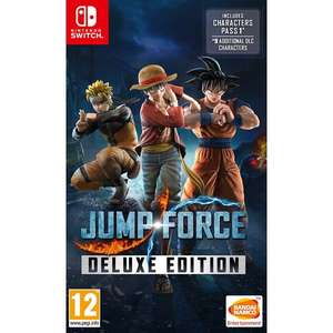 Jump Force Deluxe Edition Switch £19.99 instore @ Game (Cambridge)