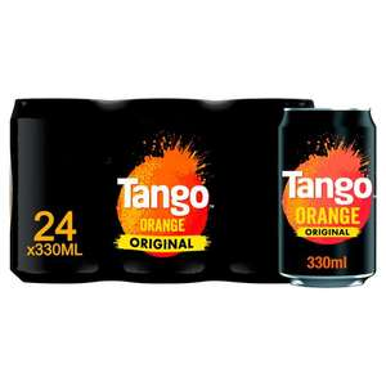 Tango Orange original 24x330ml £6 Morrison's Sutton