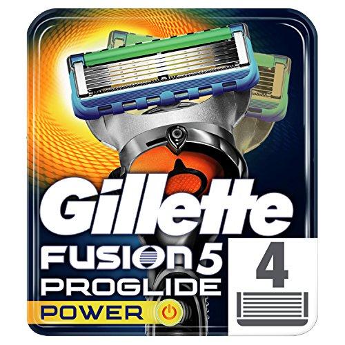 Gillette Fusion 5 ProGlide Power 4 Razor Blades Refills £10 + £4.49 Non Prime @ Amazon