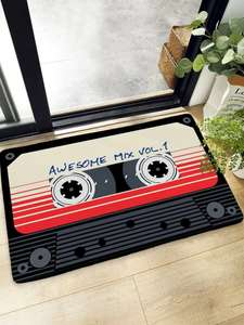 Magnetic Tape Print Floor Mat £5.99 (£5.39 with code) delivered @ Shein