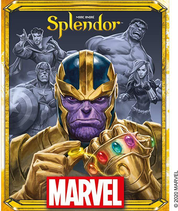 Mpace Cowboys - Marvel Splendor - Board Game £17.06 + £4.49 Non Prime @ Amazon