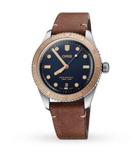 Oris Divers Sixty-Five 40mm Mens Watch 01 733 7707 4355-07 5 20 45 - £1035 with code at Goldsmiths