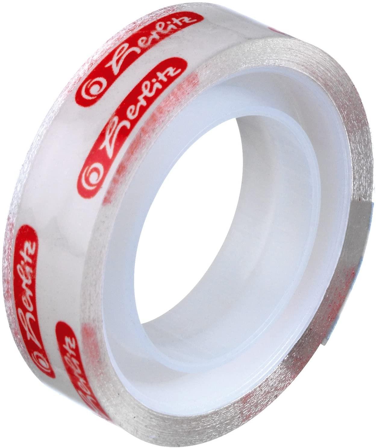 Herlitz Adhesive Film / Tape 10 m x 12 mm Transparent 43p (+£4.49 non prime) (UK Mainland) Sold by Amazon EU @ Amazon