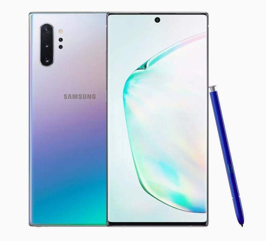 Samsung Galaxy Note 10 Plus 5G Smartphone - Unlocked Very Good Refurbished Condition - Black & Glow - £361.99 With Code @ Limetropic / Ebay