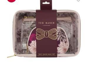Ted baker trio bag set £10 @ Boots + £1.50 click & collect