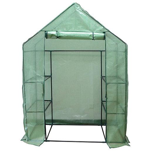 Wickes Plastic Walk In Greenhouse £25 + £7.95 p&p @ Wickes