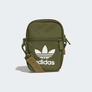 adidas Originals Trefoil Festival Bag in Wild Pine, Black, or Crew Navy for £12.75 delivered with Creators Club using code @ adidas