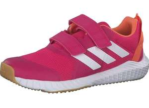 Adidas girls Fortagym running shoes (child sizes 10, 11 & 2UK) for £12.40 (+£4.49 Non Prime) at Amazon