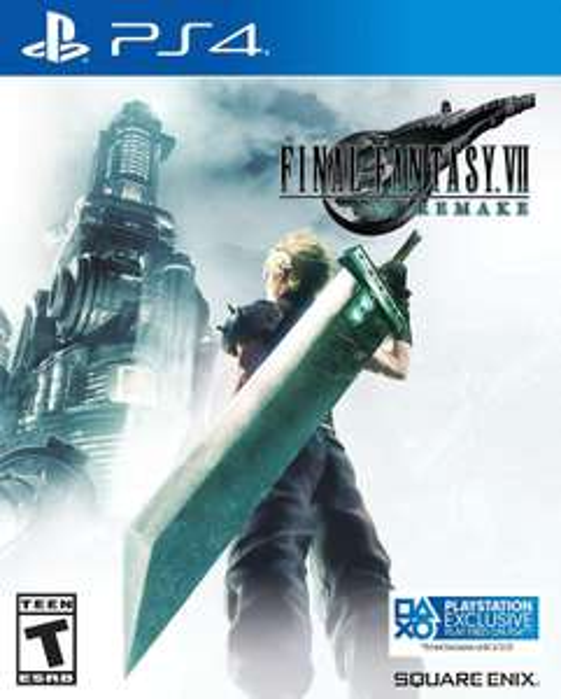 Final Fantasy VII Remake PS4 Game £25.99 at Argos Click & Collect