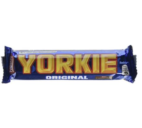 Yorkie Milk Chocolate, 46g (Pack of 24) - £8 Prime / +£4.49 Non Prime Delivered @ Amazon