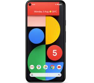 Google Pixel 5 5G 128GB Just Black £17pm for 30 months (£510 total) via PayPal Credit @ VOXI