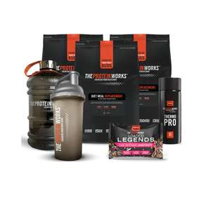 Weight Loss Kick-Off Bundle - The Protein Works £19.99 + £4.99 delivery