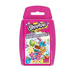 Shopkins Edition - Top Trumps Card Game £3.25 (+£4.49 Non Prime) @ Sold by Booghe Shop - ( Fast Dispatch ) and Fulfilled by Amazon.