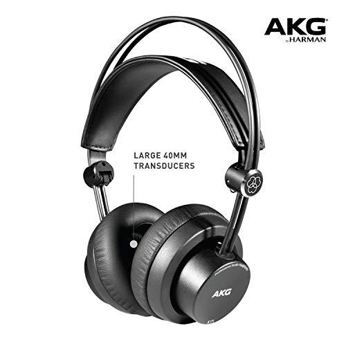 AKG K175 On-ear Closed-back Foldable Pro Studio Headphones Black - £34.69 @ Amazon