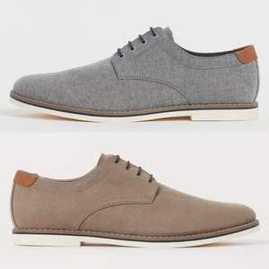Derby Mens Shoes Grey £15 Delivered (Members - Free Signup) @ H&M