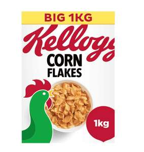 Kellogg's Corn Flakes Big Pack 1kg £3 @ Asda (Trafford park) Nationwide