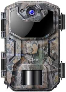 Victure Wildlife Trap Camera 20MP with Upgraded Design 1080P £44.99 prime/ £69.99 non prime @ Sold by Saoken and Fulfilled by Amazon
