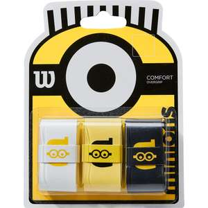 Wilson Minions Comfort Tennis Grips £6.29 + £2.99 Delivery @ Tennis Nuts