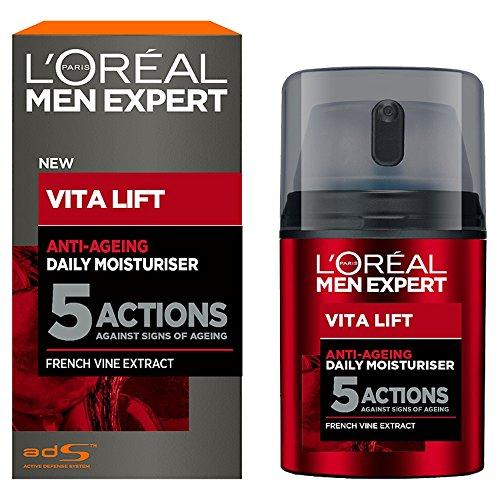 L'Oréal Paris Men Expert Anti Ageing Moisturiser, 50ml - £6.50 Prime / +£4.49 non prime (S&S with 20% off voucher £4.87) @ Amazon