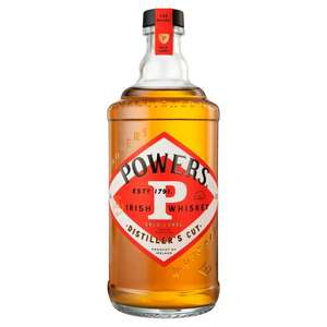Powers Gold Label Distillers cut £21 at Tesco Salford (Using magazine voucher)