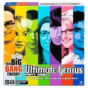 The Big Bang Theory Ultimate Genius Party Game £10 + £3.99 del at The Entertainer