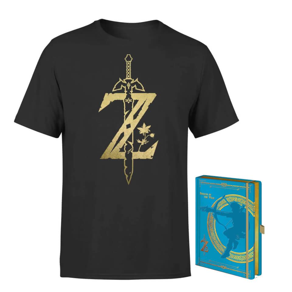 Nintendo Legend Of Zelda Tee & Notepad Bundle for £8.99 delivered using code @ Zavvi