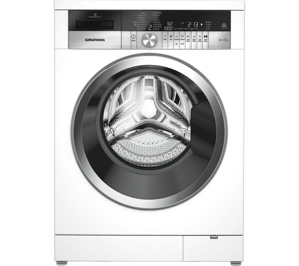 GRUNDIG GWN49460CW Washing Machine - White - £377.99 at Currys PC World