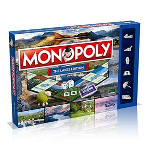 Monopoly The Lakes Edition Board Game - £11.11 Prime / £15.60 Non Prime at Amazon