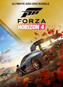 Bundle Forza Horizon 4 – Ultimate Add Ons at £11.76 - Xbox One & Series X|S & PC Windows 10 (Microsoft Store Brazil)