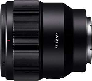 Sony SEL85F18 E Mount Full Frame 85 mm F1.8 Prime Lens £431.72 (poss £425.72 - see description) @ Amazon