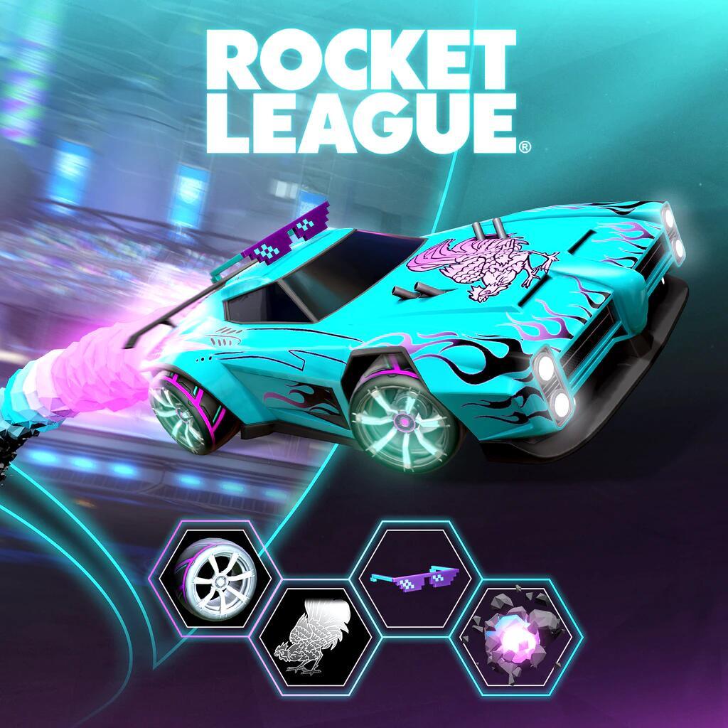 Rocket League® - April PlayStation®Plus Pack - Free @ PlayStation Store (Playstation Plus Subscription Required)