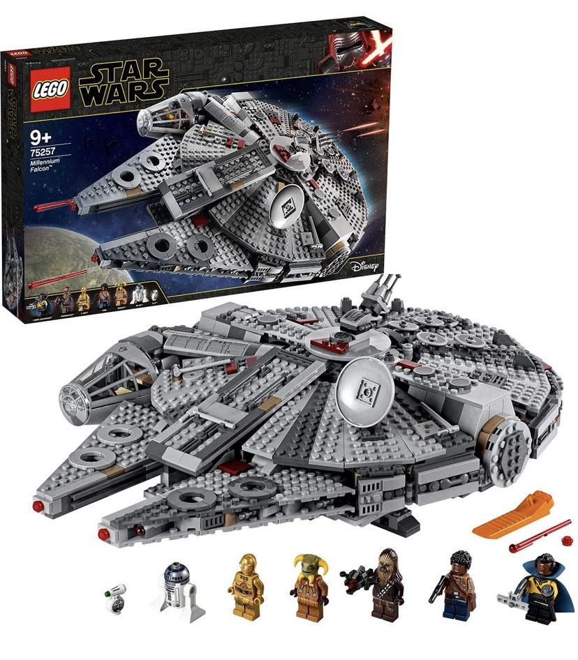 Lego Star War Millennium Falcon - £107.22 (Mainland UK) - Sold by Amazon EU @ Amazon