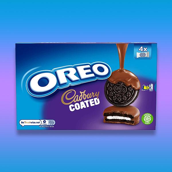 10 x Cadbury Oreo Coated Biscuits 164g Packs £10 @ Yankee Bundles