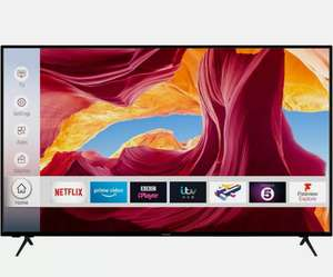 65 inch Techwood 4K Ultra HD Dolby, smart Freeview £426.55 with code (UK Mainland) @ eBay / AO