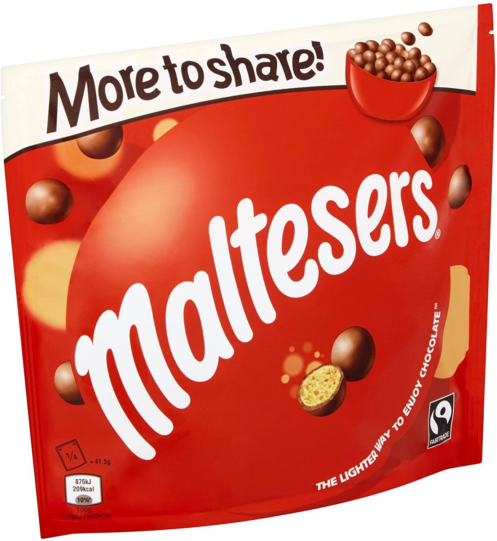 Maltesers Chocolate, 189g - £1.99 (+£4.49 Non-Prime) @ Amazon