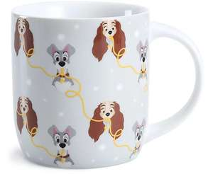 Set Of 4 Lady & The Tramp OR Alice In Wonderland Porcelain Mugs , £8 ( + Free click & collect ) @ George (Asda George)