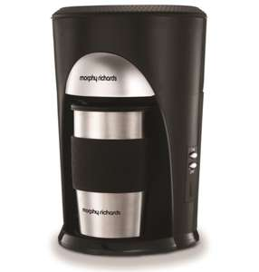 Morphy Richards Coffee On The Go - £16 (+£4.49 Non-Prime) @ Amazon