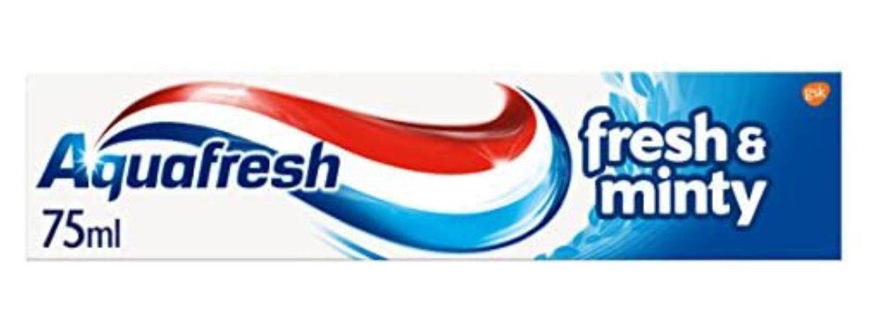 Aquafresh Toothpaste Triple Protection Fresh & Minty 75 ml - 80p (+£4.49 Non-Prime) @ Amazon