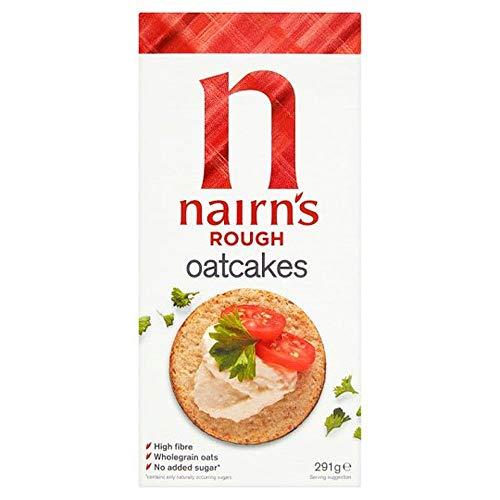 Nairn's Rough Oatcakes 291g - 80p prime / £5.29 nonPrime at Amazon
