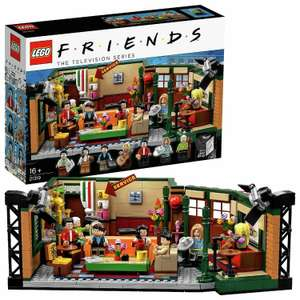 Lego Friends Central Perk Friends TV Show Building Set 21319 - £52 (Free click and collect / £3.95 Delivery) @ Argos