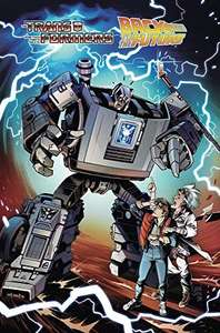 Transformers/Back To The Future Kindle / Comixology edition pre-order £2.38 @ Amazon
