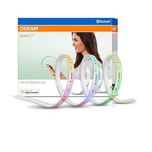 OSRAM SMART+ Bluetooth LED Strip dimmable warm white to daylight multicolour 180cm - £15.71 prime / £20.20 nonPrime / or £14.16 with S&S