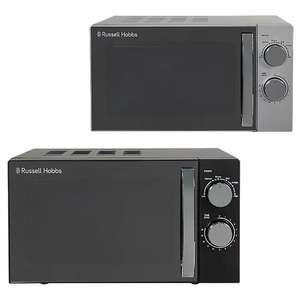 Russell Hobbs RHM1721BC (Black) or RHM1721SC (Silver) Microwave for £45 @ Asda George (Free click+collect)