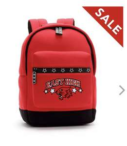 Disney Store East High Backpack, High School Musical £8.99 + £2.95 click and collect at shopDisney