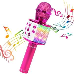 Lets Start Karaoke Nights - 4 in 1 Karaoke Bluetooth Microphone £14.44 prime / £18.93 nonPrime Sold by H-KEYIDE and Fulfilled by Amazon
