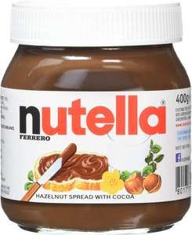 Nutella Hazelnut Chocolate Spread, 400 g, Pack of 6 - £8.72 (+ £4.49 Non Prime) @ Amazon