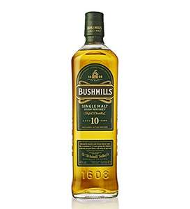 Bushmills 10 Year Old Single Malt Irish Whiskey 70cl 40% for £25 delivered at Amazon