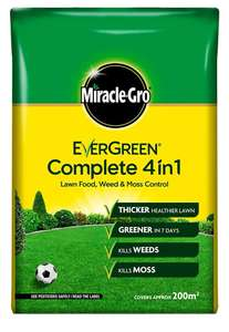 Miracle-Gro 15018 Evergreen Complete 4in1 7kg 200m2 - £8 prime / £12.49 nonPrime at Amazon